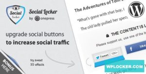 Download free Social Locker for WordPress v5.6.1