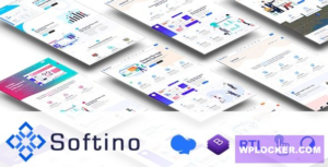 Download free Softino v1.1 – Multipurpose Software Landing Page WordPress Theme