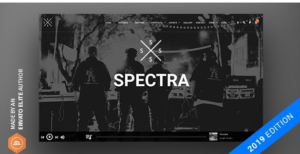 Download free Spectra – Continuous Music Playback WordPress Theme v2.5.3