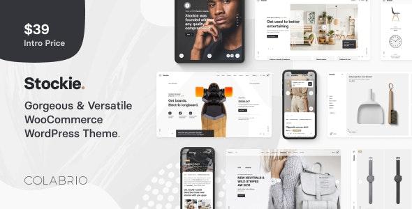 Download free Stockie v1.1.4 – Multi-purpose Creative WooCommerce Theme