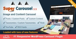 Download free Super Carousel v3.6.6 – Responsive WordPress Plugin