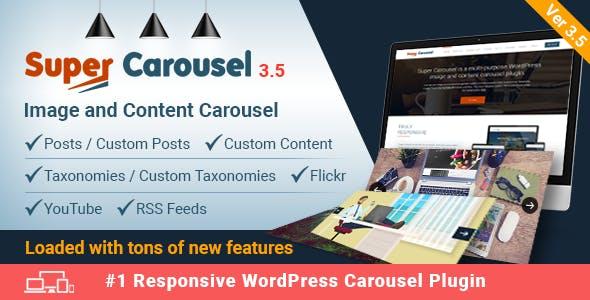 Download free Super Carousel v3.6.6 – Responsive WordPress Plugin