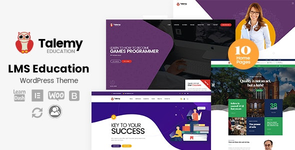 Download free Talemy v1.1.12 – LMS Education WordPress Theme