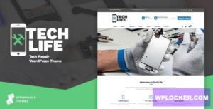 Download free TechLife v7.7 – Mobile, Tech & Electronics Repair Shop WordPress Theme