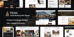 Download free Tejal v1.7 – WordPress Hotel Booking Theme