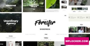 Download free The Forester v1.3.9 – WordPress Minimalist Portfolio Theme