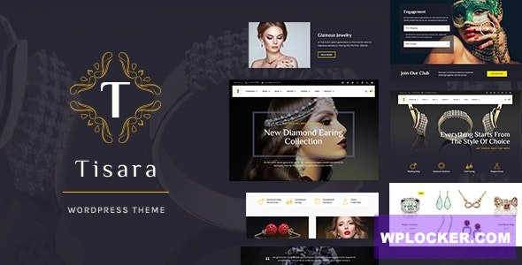 Download free Tisara v0.9.0 – Jewelry WooCommerce Theme