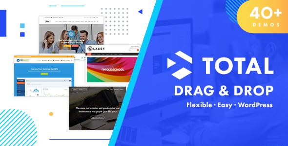 Download free Total v4.9.9.2 – Responsive Multi-Purpose WordPress Theme