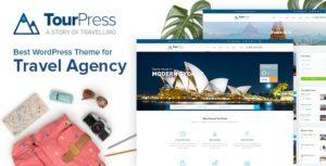 Download free TourPress v1.1.6 – Travel Booking WordPress Theme