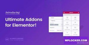 Download free Ultimate Addons for Elementor v1.25.0