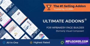 Download free Ultimate Addons for WPBakery Page Builder v3.19.5