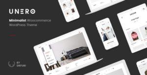 Download free Unero v1.8.6 – Minimalist AJAX WooCommerce WordPress Theme