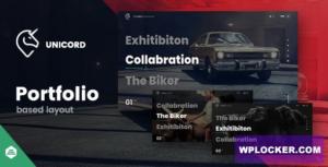 Download free Unicord v1.0.9 – Creative Portfolio for Freelancers & Agencies Theme