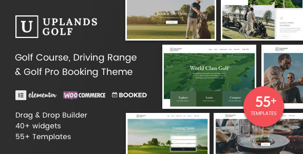 Download free Uplands v1.4.1 – Golf Course WordPress Theme