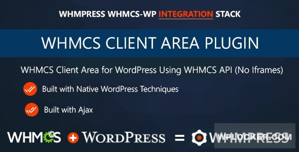 Download free WHMCS Client Area for WordPress by WHMpress v3.5