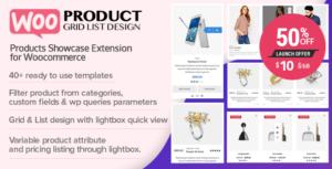 Download free WOO Product Grid/List Design v1.0.5