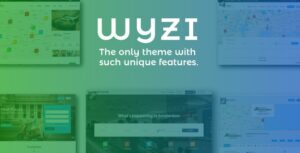 Download free WYZI v2.4.1 – Social Business Finder Directory Theme
