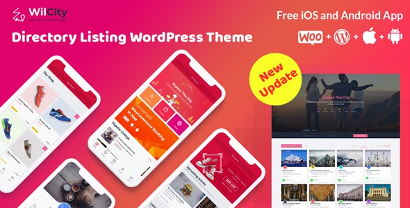 Download free Wilcity v1.2.2 – Directory Listing WordPress Theme