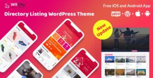Download free Wilcity v1.2.2.3 – Directory Listing WordPress Theme