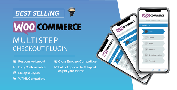 Download free WooCommerce MultiStep Checkout Wizard v3.6.8