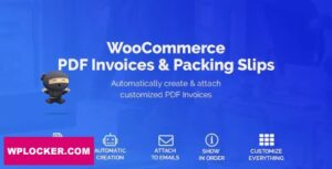 Download free WooCommerce PDF Invoices & Packing Slips v1.3.12