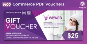 Download free WooCommerce PDF Vouchers v4.1.5 – WordPress Plugin