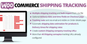 Download free WooCommerce Shipping Tracking Plugin v25.4