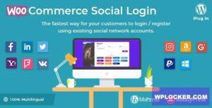 Download free WooCommerce Social Login v2.2.4 – WordPress plugin