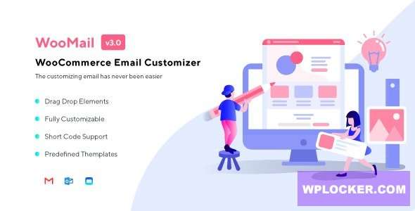 Download free WooMail v3.0.2 – WooCommerce Email Customizer