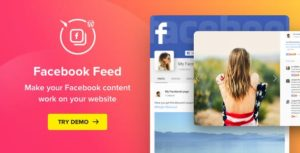 Download free WordPress Facebook Plugin v1.14.0 – Facebook Feed Widget