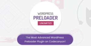 Download free WordPress Preloader Unlimited v4.2