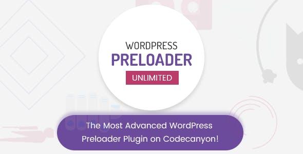Download free WordPress Preloader Unlimited v4.2