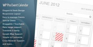 Download free WordPress Pro Event Calendar v3.1.8