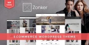 Download free Zonker v1.6.3 – WooCommerce WordPress Theme