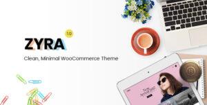 Download free Zyra v1.1.6 – Clean, Minimal WooCommerce Theme
