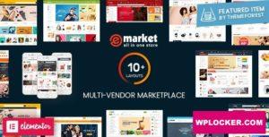 Download free eMarket v2.4.0 – Multi Vendor MarketPlace WordPress Theme