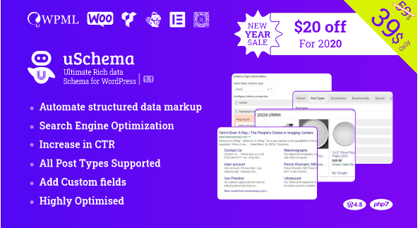 Download free uSchema v1.1.2 – Ultimate Rich Data Schema for WordPress 1.1.2