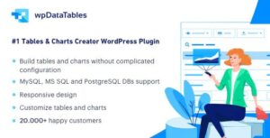 Download free wpDataTables v3.0.0 – Tables and Charts Manager for WordPress