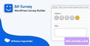 Download free AH Survey v1.0.0 – Survey Builder With Multiple Questions Types
