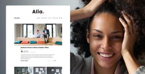 Download free Alia v1.45 – Minimal Personal Blog
