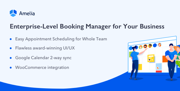 Download free Amelia v3.0 – Enterprise-Level Appointment Booking