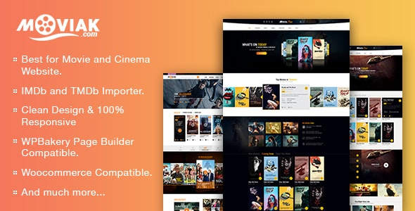 Download free AmyMovie v3.4.0 – Movie and Cinema WordPress Theme