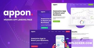 Download free Appon v1.1.2 – App & SaaS Software Theme
