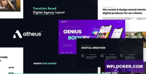 Download free Atheus v1.0.0 – Modern Creative Agensy
