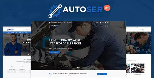 Download free Autoser v1.0.8 – Car Repair and Auto Service Theme