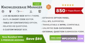Download free BWL Knowledge Base Manager v1.3.3