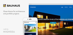 Download free Bauhaus v1.3.8 – Architecture & Portfolio WordPress Theme