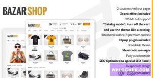 Download free Bazar Shop v3.12.0 – Multi-Purpose e-Commerce Theme