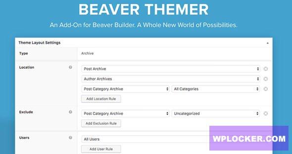 Download free Beaver Themer v1.3.2.1 – Premium Plugin