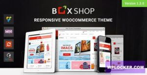 Download free BoxShop v1.3.9 – Responsive WooCommerce WordPress Theme